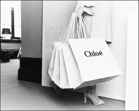 Floor, Style, Flooring, Black-and-white, Monochrome photography, Shopping bag, Paper bag, Tote bag, Foot, Shoulder bag,