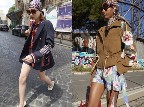 Clothing, Street fashion, Fashion, Shorts, Snapshot, Footwear, Leg, Outerwear, Jacket, Blazer,