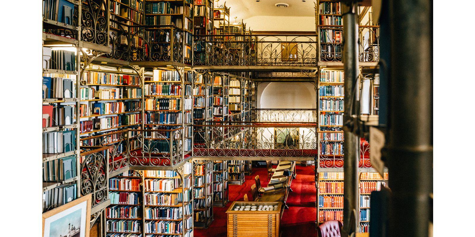 大学 図書館 ハーバード