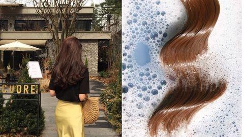 Hair, Hairstyle, Brown hair, Hair coloring, Long hair, Blond, Brown, Liver, Hair accessory, Layered hair,