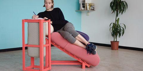 Sitting, Leg, Furniture, Thigh, Human leg, Knee, Leisure, Comfort, Chair, Stool,
