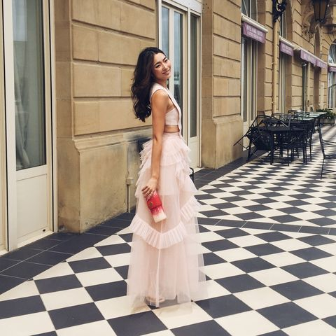 Photograph, White, Dress, Clothing, Shoulder, Fashion, Beauty, Snapshot, Gown, Wedding dress,