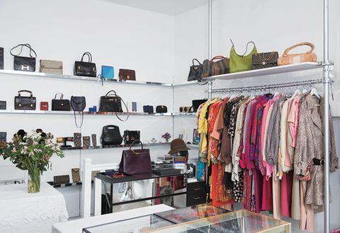 Room, Boutique, Closet, Shelf, Outlet store, Furniture, Interior design, Shelving, Building, Clothes hanger,