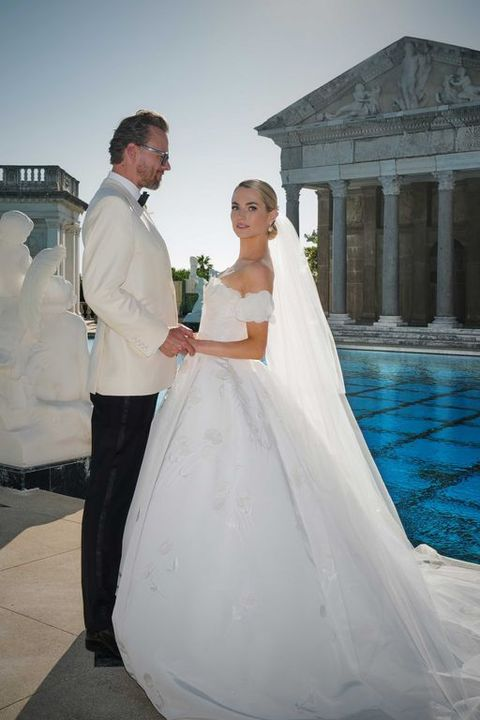 ハースト令嬢 結婚式