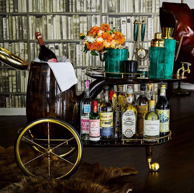 7 Best Bar Cart Ideas For 2020 Unexpected Uses For Bar Carts