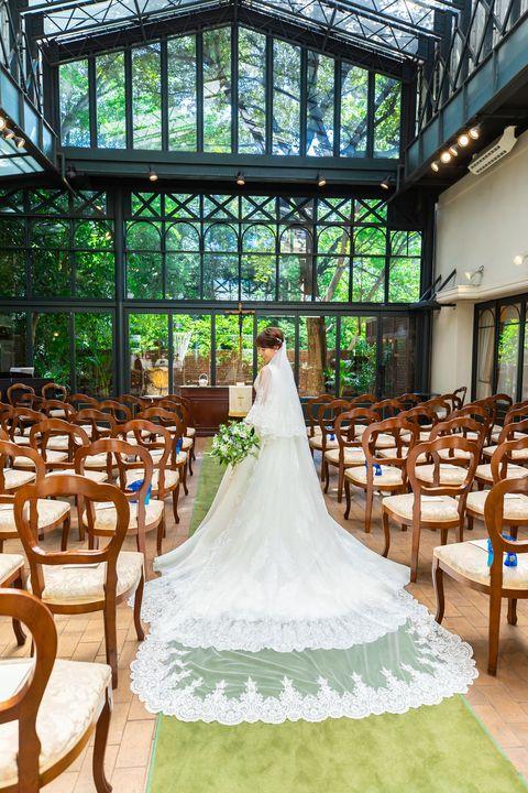 レストランasoで挙式した花嫁
