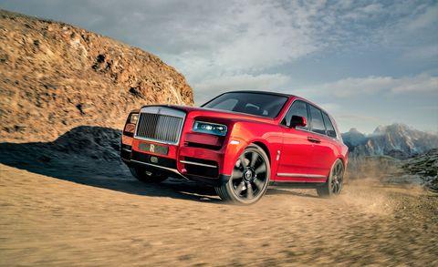 Land vehicle, Vehicle, Car, Automotive design, Luxury vehicle, Rim, Landscape, Wheel, Automotive tire, Sport utility vehicle,