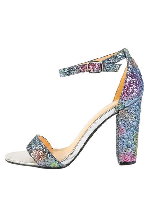 Footwear, High heels, Sandal, Shoe, Purple, Court shoe, Basic pump, Magenta, Fashion accessory, Slingback,