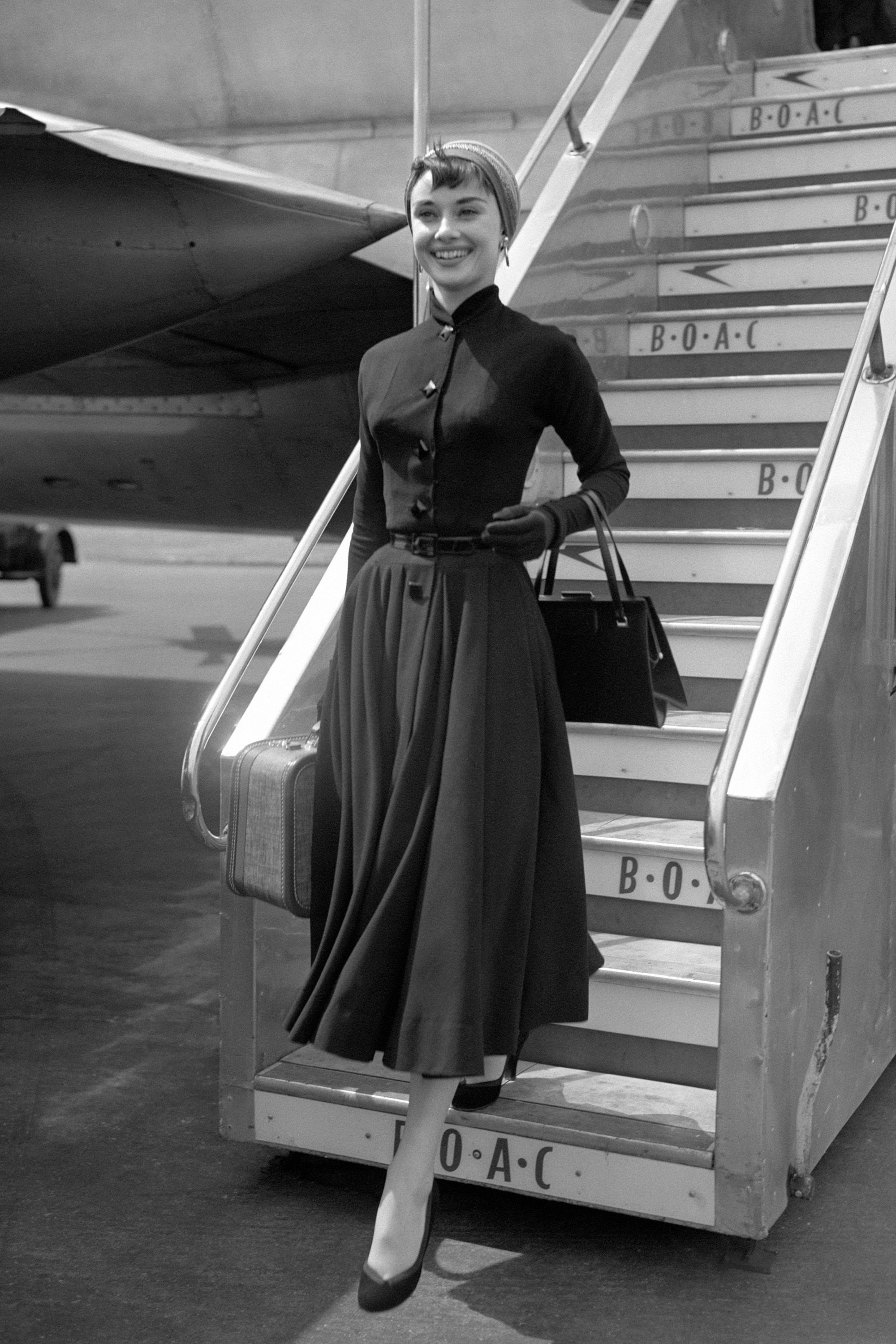 50s airport style
