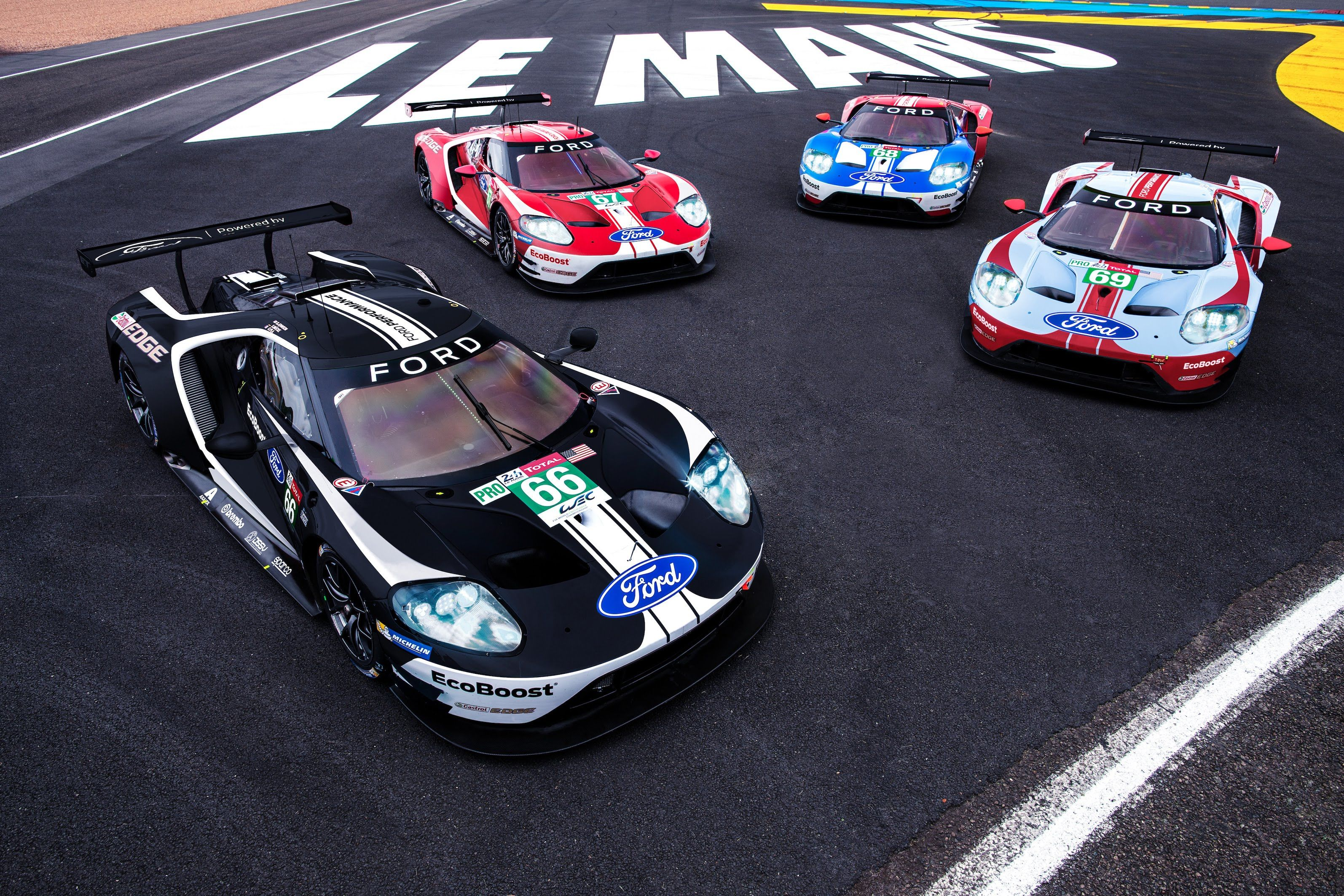 The New Ford GT Le Mans Liveries Are Just About Perfect