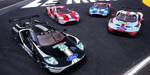 Ford GT Liveries Celebrate Le Mans