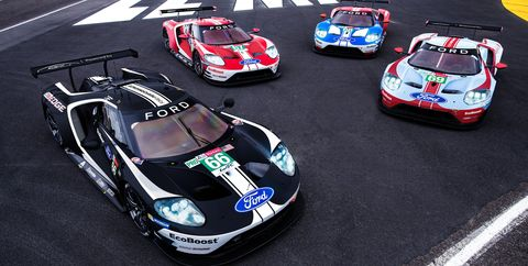 Ford GT Gets Special Racing Liveries That Celebrate Legendary Wins at Le Mans