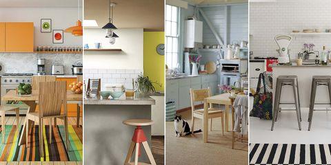 Cocinas de diferentes estilos