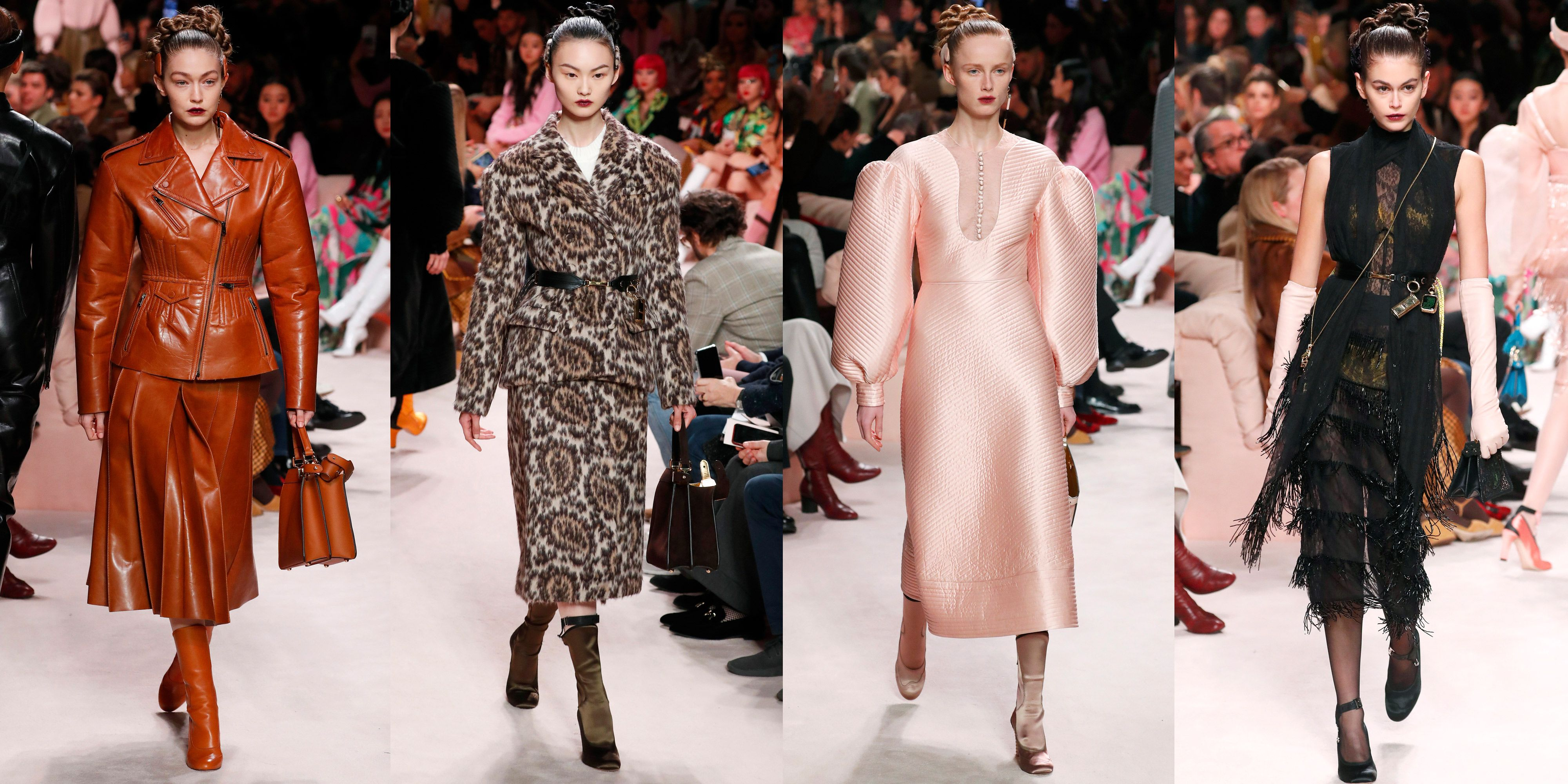 Every Look in Fendi's Fall 2020 Runway Collection
