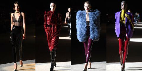Fashion model, Fashion, Runway, Clothing, Fashion show, Fur, Fashion design, Haute couture, Event, Outerwear,