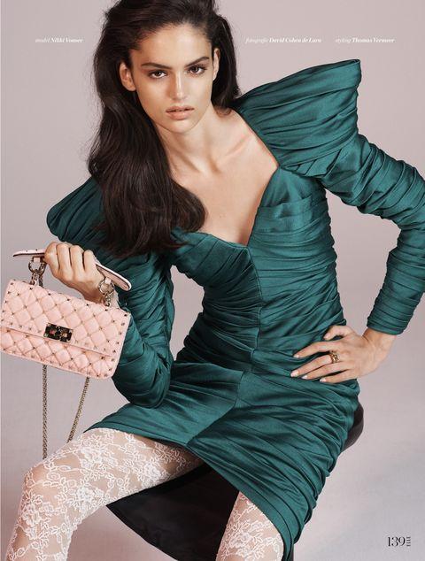 Fotografie: David Cohen de Lara, Styling: Thomas Vermeer, Model: Nikki Vonsee