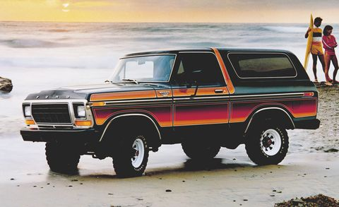 ford bronco freewheeling
