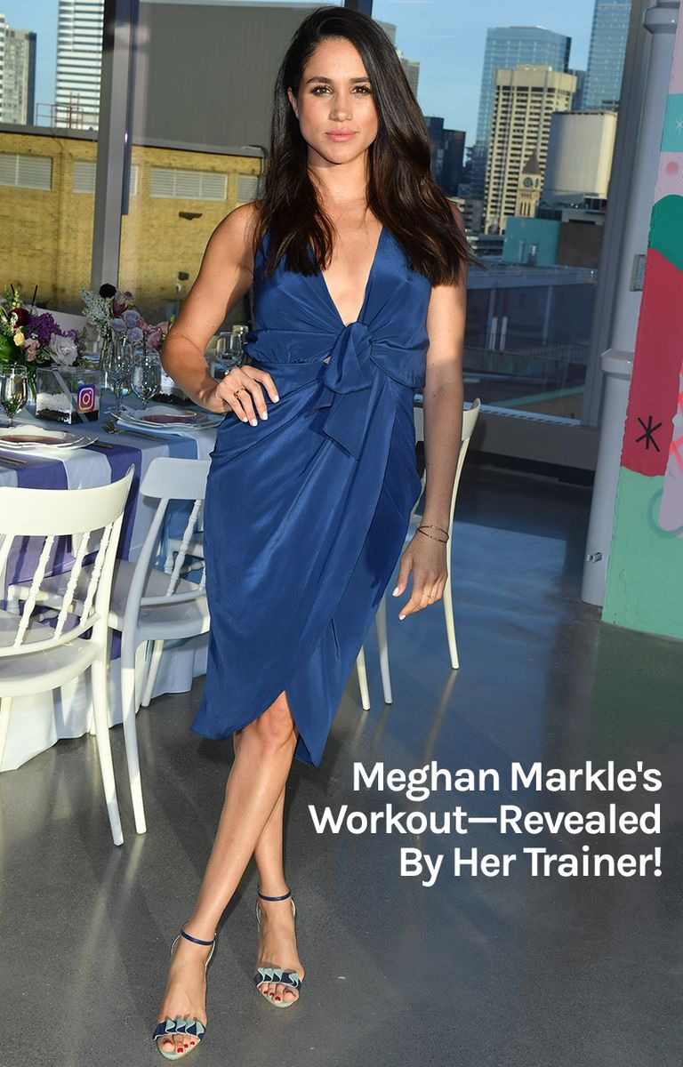 Meghan Markle Workout - 11 Full-Body Exercises She Swears By