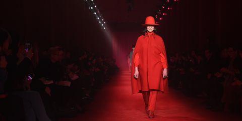 Twin Peaks avid Lynch Fashion Runway Gucci