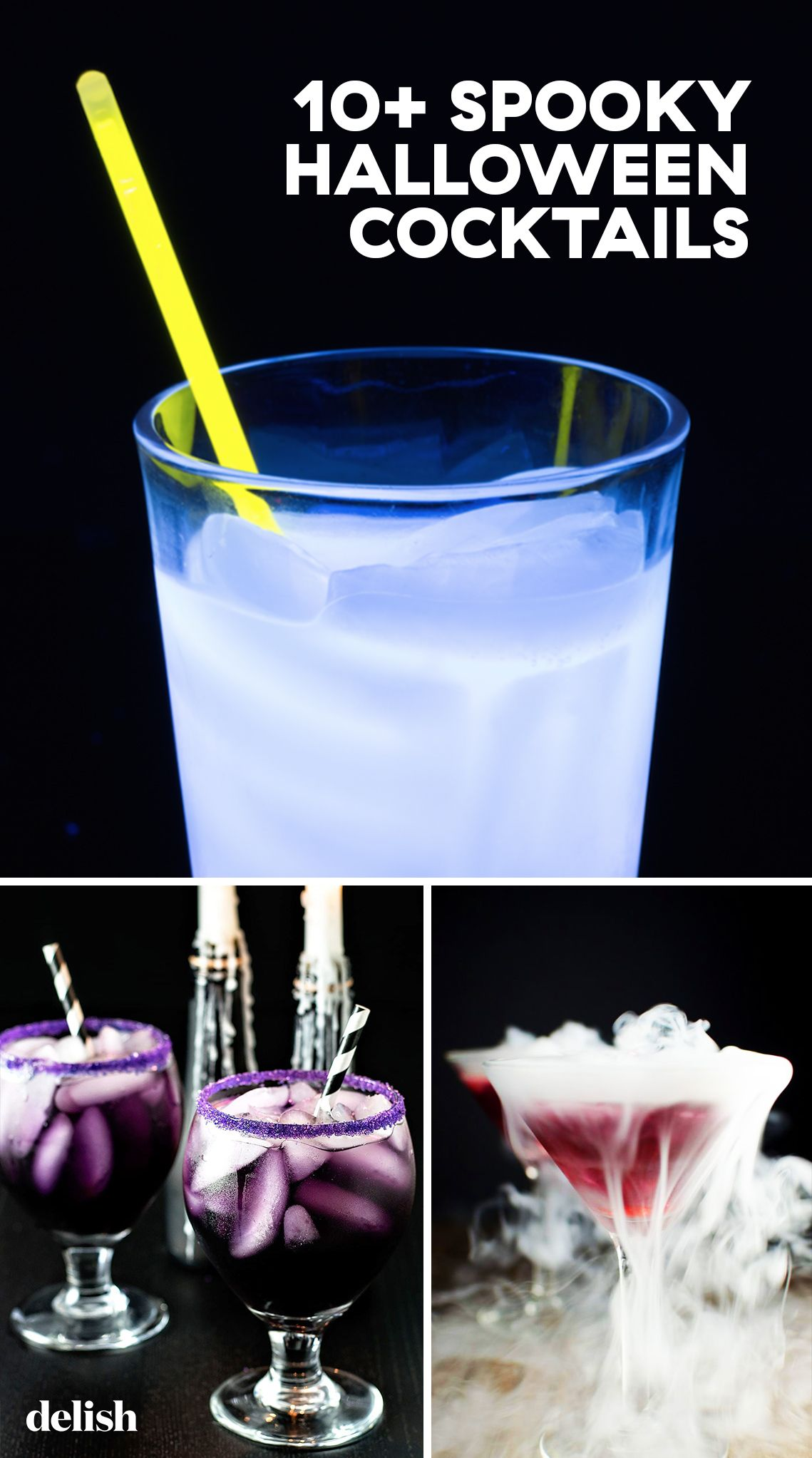 10+ best halloween cocktails - easy alcoholic drink recipes for