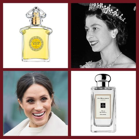 The personal fragrances that have been worn by members of the royal family including Meghan Markle, Grace Kelly and Kate Middleton.