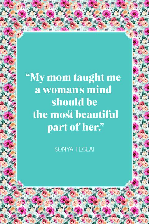 mother daughter quotes sonya teclai