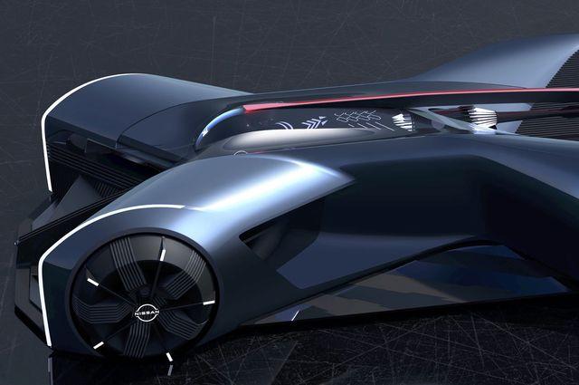 nissan gt r x 2050 concept