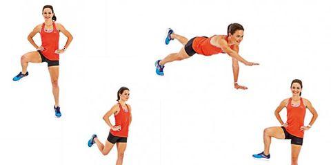 oefeningen, guide, stabiliteit, sterk, kracht