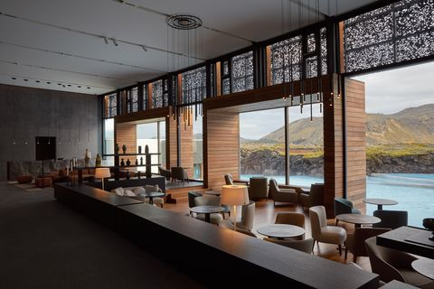 Retreat at Blue Lagoon Iceland Lobby