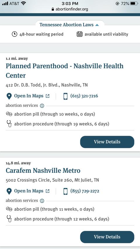 abortion finder