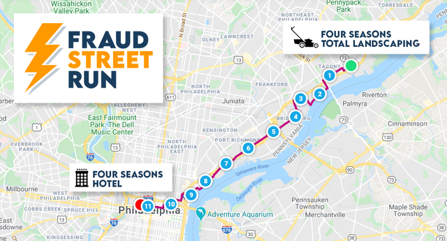 fraud street run