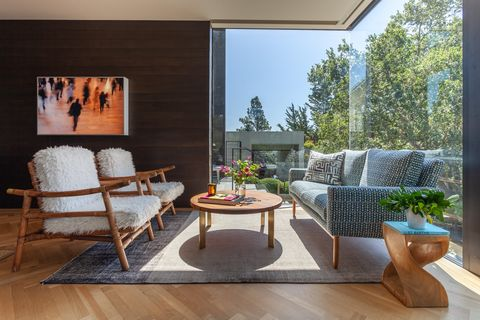 the simon residence in mill valley, ca