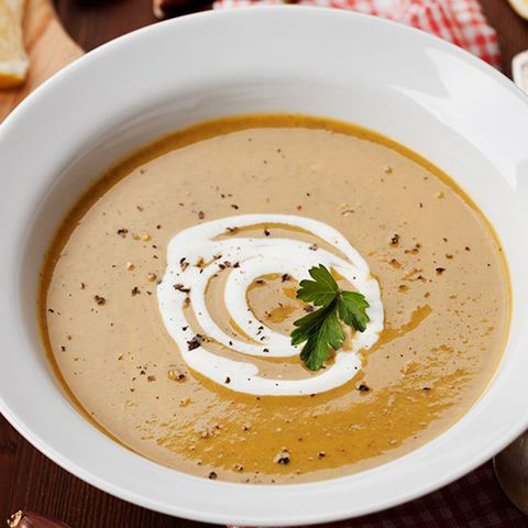 Dish, Food, Cuisine, Ingredient, Bisque, Velouté sauce, Soup, Cream of mushroom soup, Potage, Tahini,