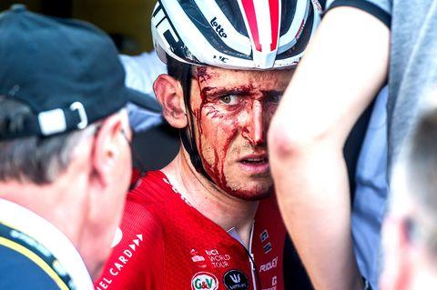 Tiesj Benoot Abandon Tour de France Etappe 4 La Baule Sarzeau