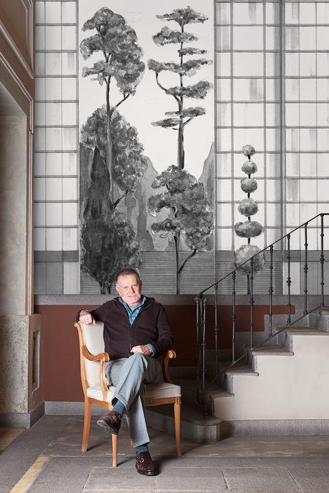 40 aniversario de la marca Coordonne y 40 artistas que han diseñado 40 modelos de papel pintado