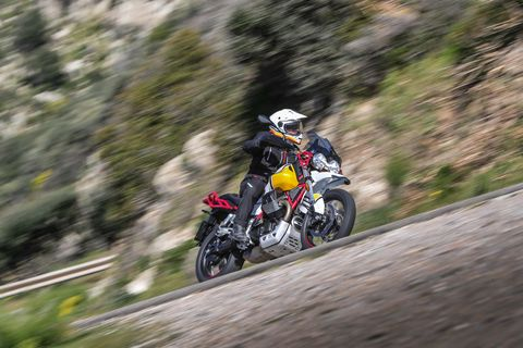 moto guzzi v85tt does dirt and street