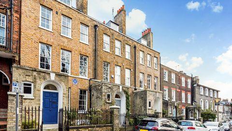 40 Well Walk - Hampstead - John Constable - exterior - Savills
