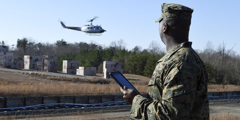 Soldier, Military, Helicopter, Army, Military organization, Rotorcraft, Infantry, Aircraft, Airman, Gesture,
