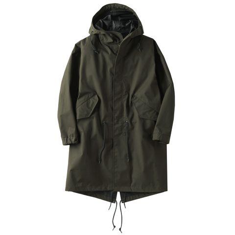Clothing, Outerwear, Jacket, Hood, Coat, Parka, Sleeve, Raincoat, Fur,
