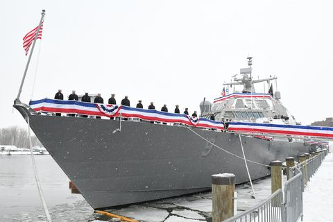 The U S  Navy's Newest Ship Is Trapped in Canada