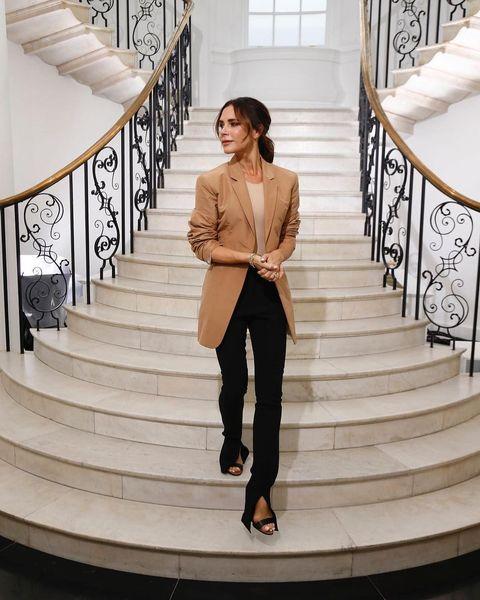維多莉亞貝克漢,Victoria Beckham,穿搭,倫敦時裝週,vb10