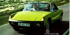 Porsche 914 vintage ad