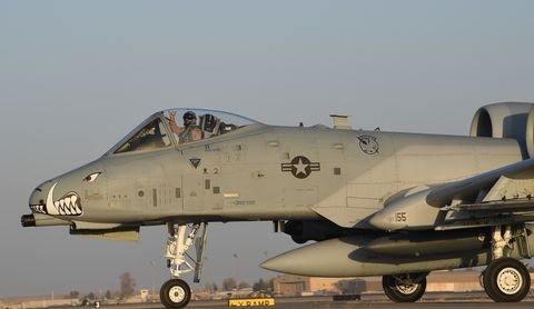 The A-10 Is Back Over Afghanistan