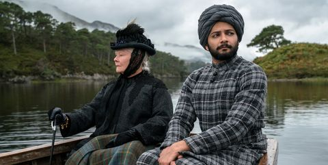 Judi Dench stars as Queen Victoria and Ali Fazal (right) stars as Abdul Karim in director Stephen Frears' VICTORIA AND ABDUL, a Focus Features release.