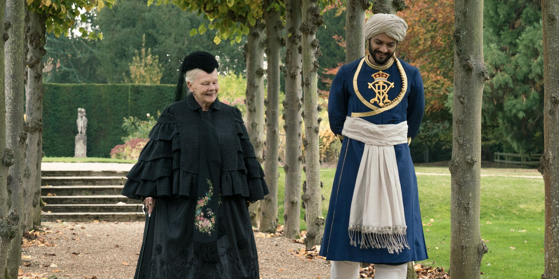 judi dench ali fazal victoria and abdul