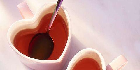 Red, Cup, Cup, Food, Earl grey tea, Coffee cup, Heart, Tableware, Tea, Chinese herb tea,
