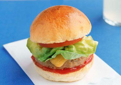 Food, Finger food, Sandwich, Red, Cuisine, Ingredient, Produce, Bun, Vegetable, Breakfast,