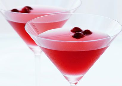 The classic Cosmo is great for summer sipping