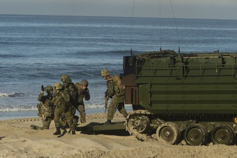 Mode of transport, Military, Military organization, Marines, Troop, Vehicle, Military vehicle, Soldier, Army, Infantry,
