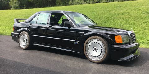 This 1985 Mercedes-Benz 190E Is a 2010 C63 AMG